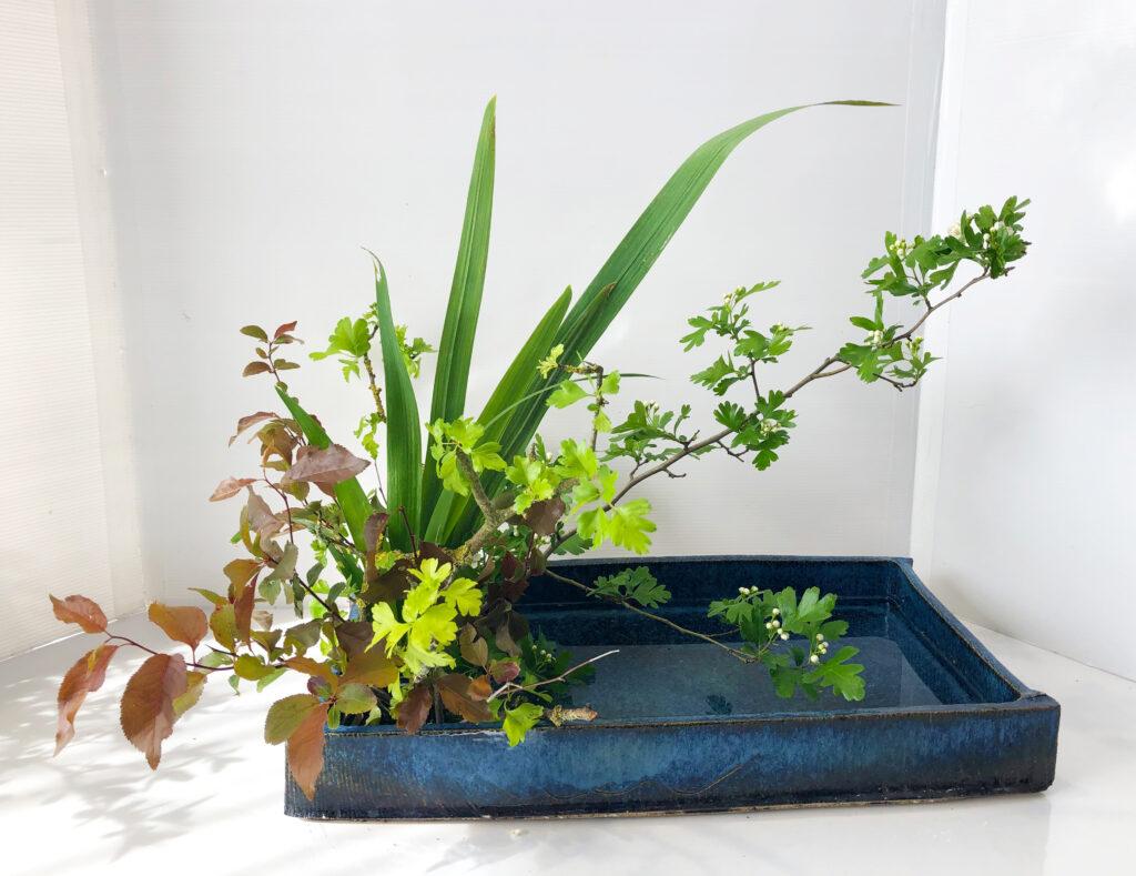 Shakei Moribana, Shizen-hon-i. Realistiskt landskapsarrangemang